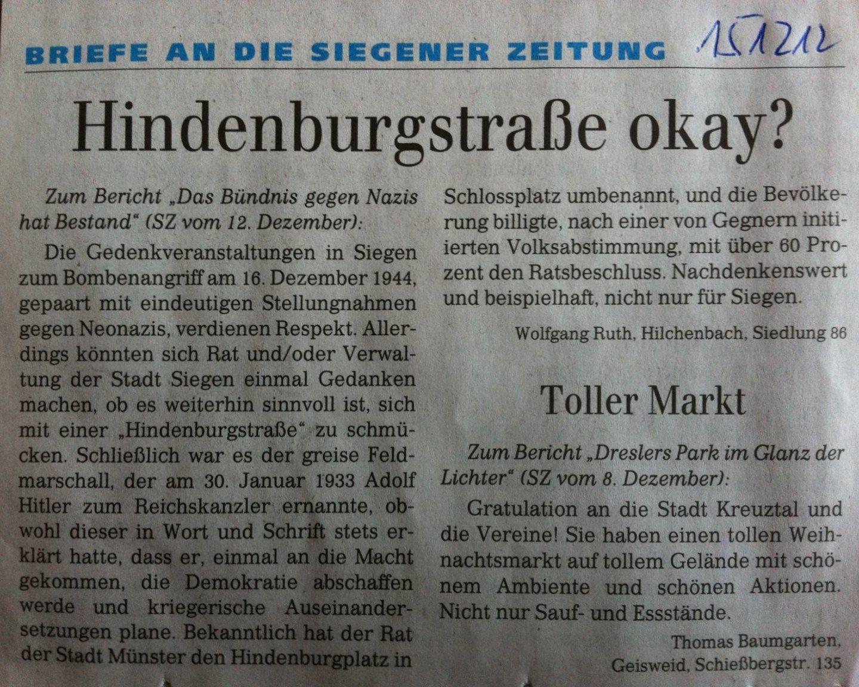 Wolfgang Ruth zum 16.12..